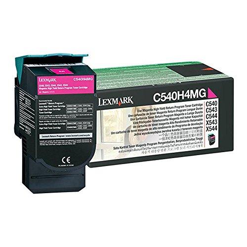 Lexmark X544 C540H4MG Magenta OEM Toner High Yield 2000 Yield