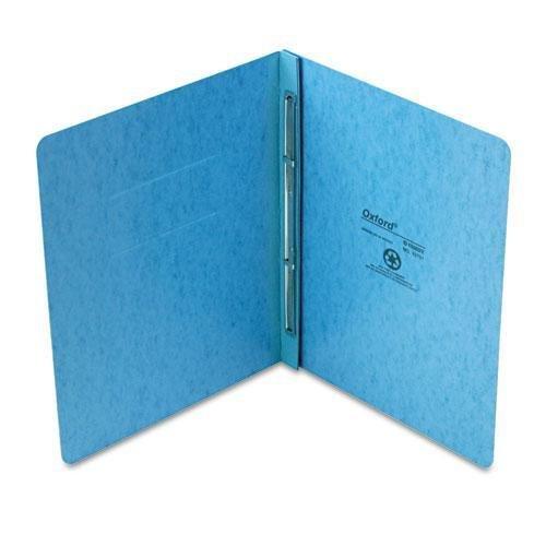 OXFORD 12701 PressGuard Report Cover Prong Clip Letter 3 Capacity Light Blue