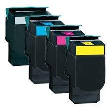 Ink Now Premium Compatible C540 C540N C543 C543DN C544 C544DN C544DTN C544DW C544N C546 C546DTN X543 X543DN X544DN X544DTN X544DW X544N X546 X546DTN X548 X548DE X548DTE Combo Pack all 4 colors KMCY C540H1KGC540H1CGC540H1MGC540H1Y