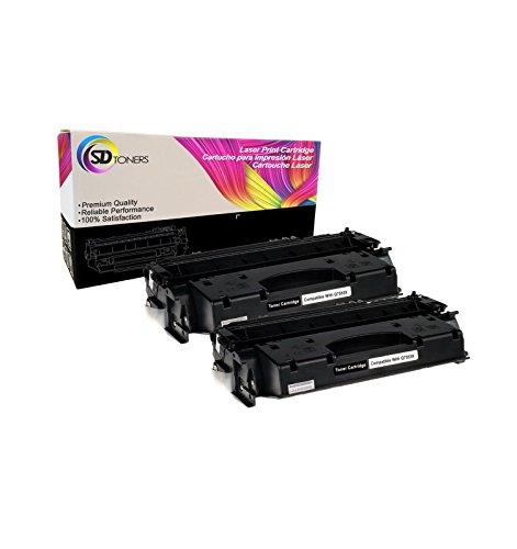 JSL 2PK 53A Q7553A Toner Cartridge Compatible For HP LaserJet P2015dn M2727nf MFP