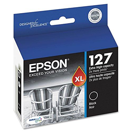 EPSON EPSON DURABRITE ULTRA INK BLACK INK CARTRIDGE HIGH-CAPACITY WORKFORCE 630633