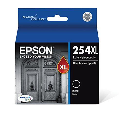 Epson DURABrite Ultra 254XL Extra High-Capacity Ink Cartridge Black T254XL120