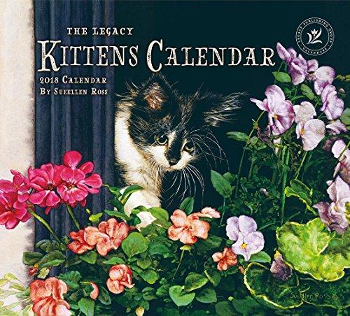 Legacy Publishing Group 2018 12-Month Wall Calendar Kittens Calendar