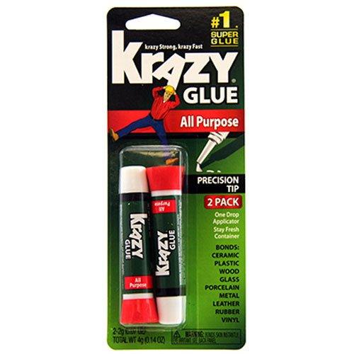 Krazy Glue KG517 Instant Krazy Glue All Purpose 007-Ounce 2-Pack