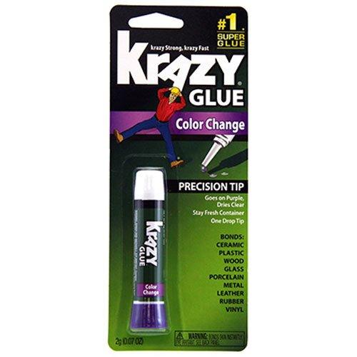 Krazy Glue KG58848R Instant Crazy Glue Color Change Formula Tube 007-Ounce