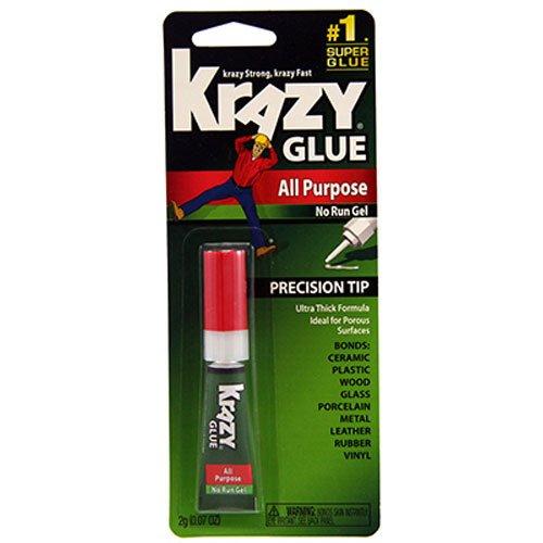 Krazy Glue with All-Purpose Gel Formula 2-Grams EPIKG86648R