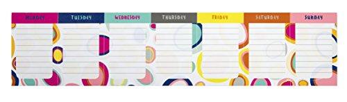 Iota Sticky Note Weekly Calendar Pebbles