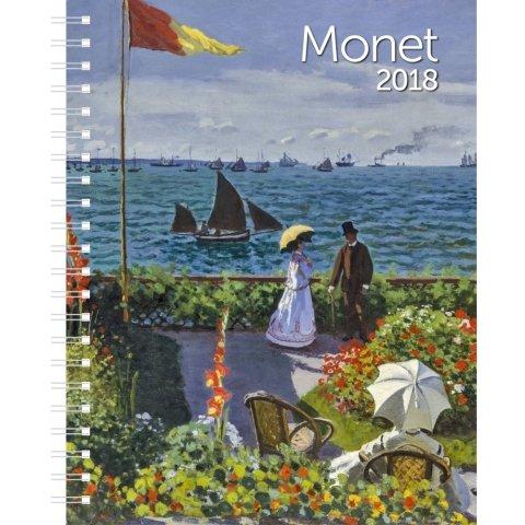 2018 Monet Weekly Engagement Calendar