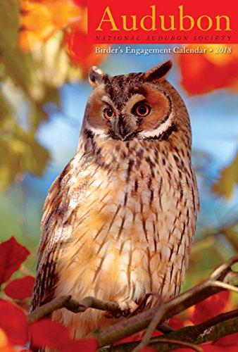 Audubon Birders Engagement Planner Calendar 2018 6 x 9