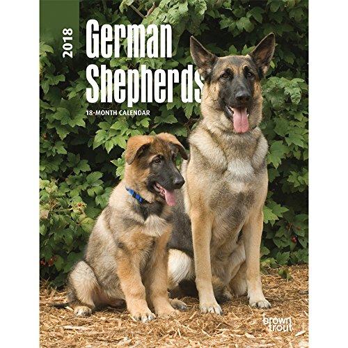 German Shepherds 2018 Weekly Engagement Calendar