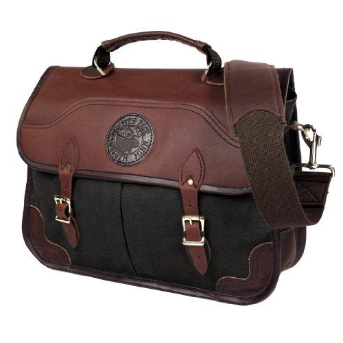 Duluth Pack Executive Portfolio Briefcase Black 11 x 17 x 5-Inch