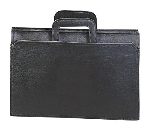 Preferred Nation Handle Portfolio Briefcase Black