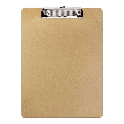 BAZIC Standard Size Hardboard Clipboard w Low Profile Clip for School Office or Classroom Supplies Case of 24