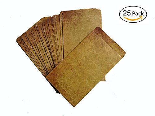 Brown Vintage Kraft Paper Envelopes472 x 79 InchesPack of 25