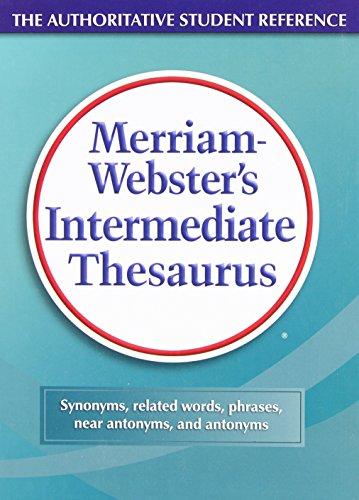 Merriam-Websters Intermediate Thesaurus