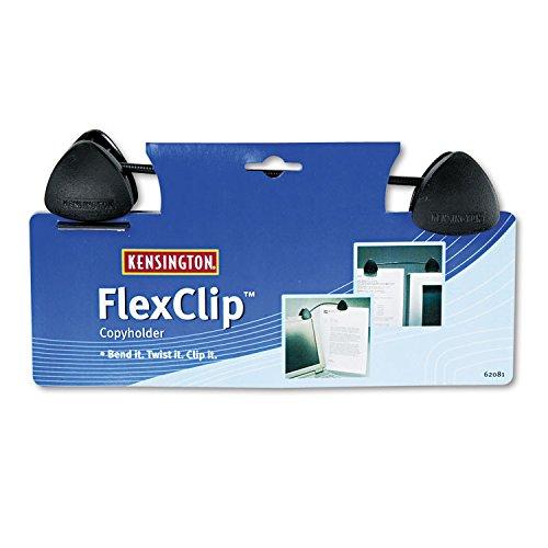 Kensington FlexClip Copy Holder - Molded Plastic