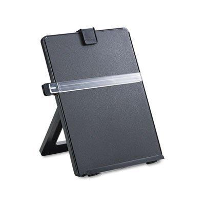 Non-Magnetic Letter-Size Desktop Copyholder Plastic 125 Sheet Capacity Black Sold as 1 Each
