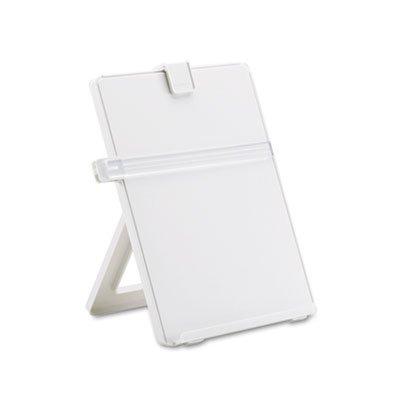 Non-Magnetic Letter-Size Desktop Copyholder Plastic Platinum Sold as 1 Each