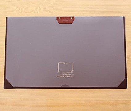 Large Desk Pads Waterproof Anti-slip Desk Mouse Mat Desk Protector Mat for Desktops and Laptops 21x 126 Brown