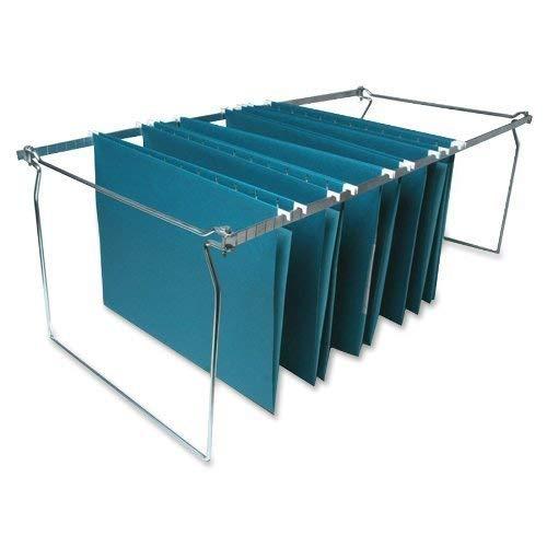 Sparco Hanging File Folder Frames Stainless Steel Adjustable Length  SPR60529 3 Pack