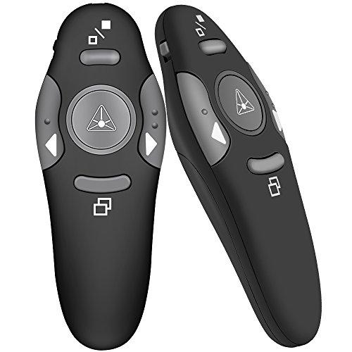 DinoFire Wireless Presenter RF 24GHz Remote Presentation USB Control PowerPoint PPT Clicker