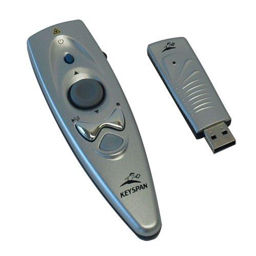 Keyspan by Tripp Lite PR-US2 Presentation Remote Wireless w Laser Mouse