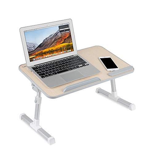 Laptop Stand,Laptop Desk for Bed,Laptop Bed Tray Table,Lap Desks for AdultsLap Desk for KidsLaptop Lap DeskAdjustable Laptop StandLaptop Stand for Desk-Wood