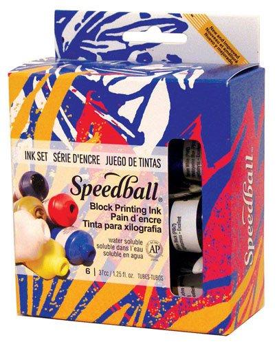 Speedball Block Printing Ink Starter Set