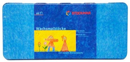 Stockmar Beeswax Block Crayons Set of 16