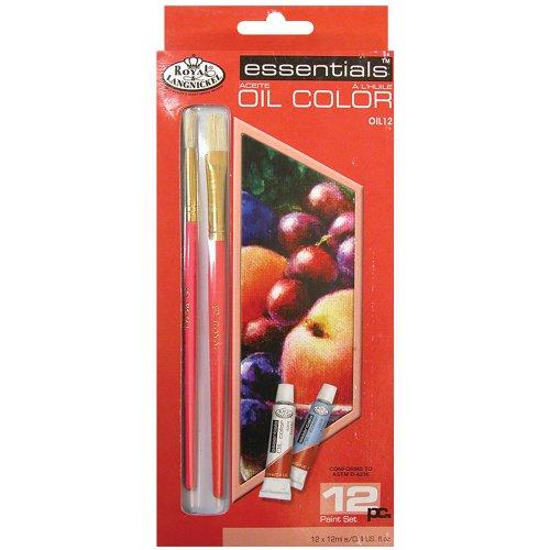 Royal Langnickel Oil Color Paint 12pkg