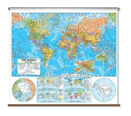 Advanced Political Map - World