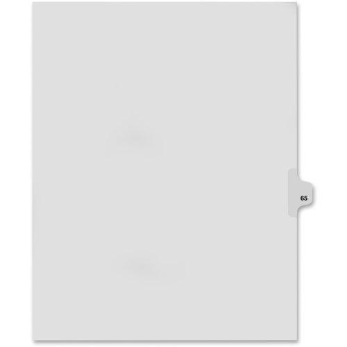 KLF82265 - Kleer-Fax Legal Exhibit Numbered Index Dividers
