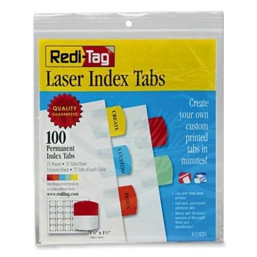 RTG33120 - Laser Printable Index Tabs