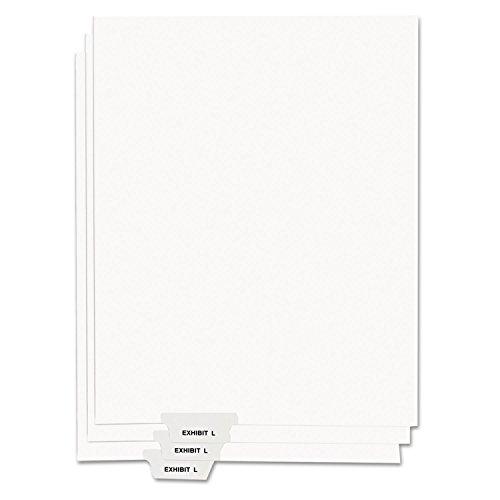 Kleer-Fax 80000 Series Preprinted Bottom Tab Index Divider 81150