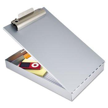 Portable Storage Clipboard Letter Silver