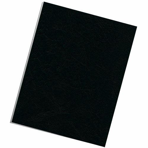 Fellowes Binding Grain Presentation Covers Letter Black 25 Pack 5217501