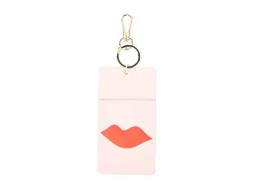 Kate Spade New York Id Badge Clip Key Chain Lips
