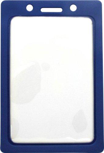 1820-3002 Vinyl Color - Frame Badge Holder - Pack of 100 Blue
