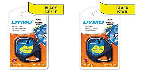 Dymo LetraTag Label Maker Tape Cartridges 2 Packs