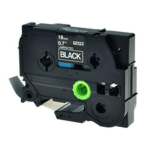SuperInk 1PK Replace TZ345 TZe345 TZ-345 TZe-345 Label Tape 34 18mm x 262ft8m White on Black Standard Laminated Tape Compatible for Brother P-Touch PT-P700 PT-D600 PT-D400 Label Maker