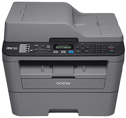 Brother Printer EMFCL2700DW Wireless Monochrome Printer with Scanner Copier Fax Certified Refurbished