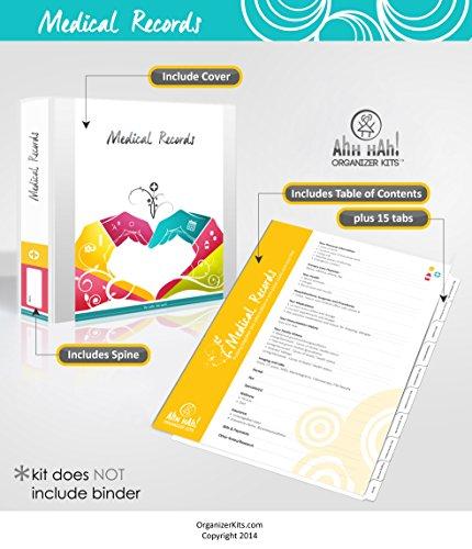 Ahh Hah Medical Records Organizer Kit