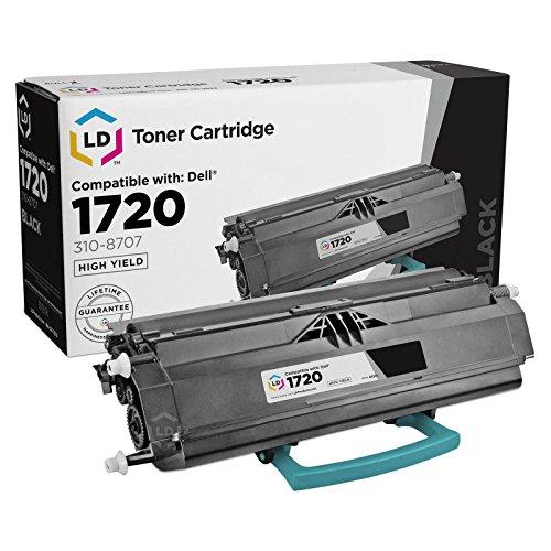 LD © Refurbished Toner to replace Dell 310-8702 GR332 Black Toner Cartridge for your Dell 1720 Laser printer