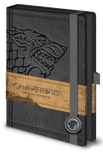 Game of Thrones Stark Premium A5 Notebook Journal