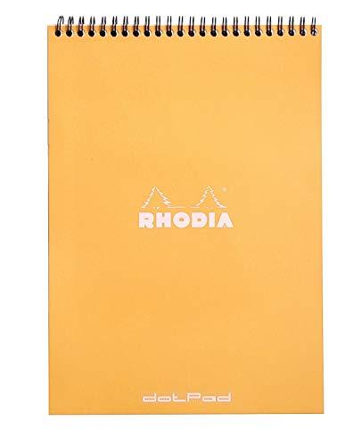 Rhodia Wirebound Notepad A4 Dot - Orange