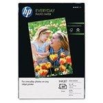 HP Everyday Semi-Gloss Photo Paper 45 lbs Semi-Gloss 4 x 6 50 SheetsPack HEWQ8868AND Category Photo Paper