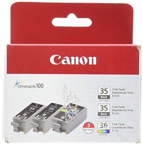 Canon PGI-35 Twin Black CLI-36 Color Ink 1509B007ABAE
