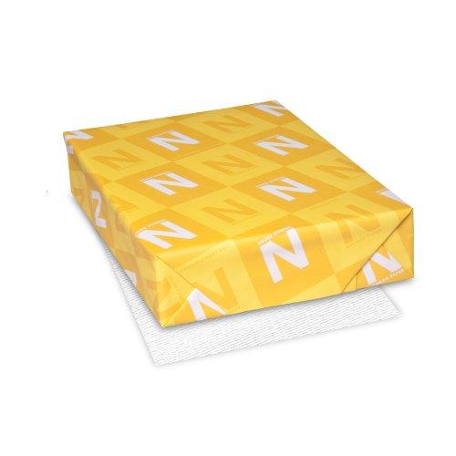 Classic Laid Premium Paper 85 x 11 24 lb89 GSM Avon Brilliant White 97 Brightness 500 Sheets 06511