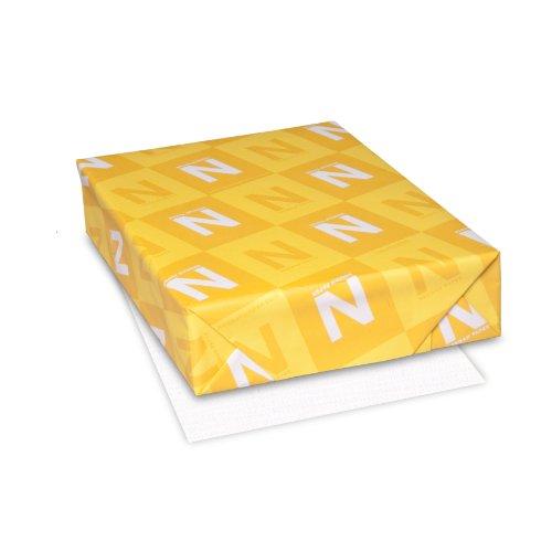 Classic Linen Premium Paper 85 x 11 24 lb89 GSM Avon Brilliant White 97 Brightness 500 Sheets 05231