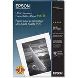Epson Ultra Premium Presentation Paper MATTE 13x19 Inches 50 Sheets S041339